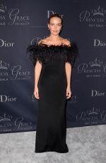 LARA BINGLE at Princess Grace Awards Gala in Hollywood 10/24/2017