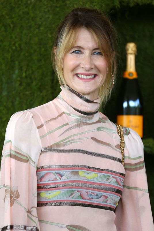 LAURA DERN at 8th Annual Veuve Clicquot Polo Classic in Los Angeles 10/14/2017