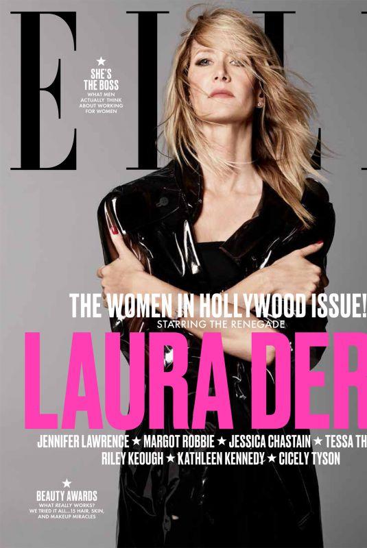 LAURA DERN for Elle Women in Hollwood Issue, November 2017