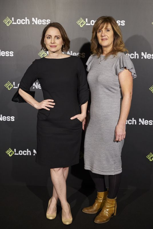 LAURA FRASER and SIOBAHN FINNERAN at Loch Ness TV Series Photocall in Madrid 10/20/2017