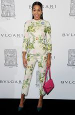 LAURA HARRIER at Bulgari Celebrates 5th Avenue Flagship Store Opening in New York 10/20/2017