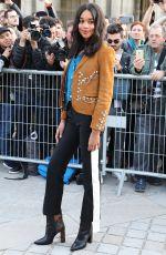 LAURA HARRIER at Louis Vuitton Fashion Show in Paris 10/03/2017