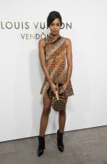 LAURA HARRIER at Louis Vuitton's Boutique Opening at Paris Fashion Week 10/02/2017