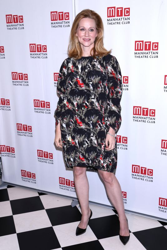 LAURA LINNEY at Manhattan Theatre Club Fall Benefit in New York 10/24/2017