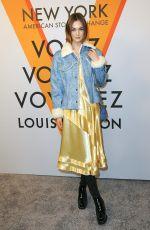 LAURA LOVE at Volez, Voguez, Voyagez: Louis Vuitton Exhibition Opening in New York 10/26/2017