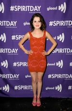 LAURA MARANO at Justin Tranter and Glaad Present Believer Spirit Day Concert in Los Angeles 01/18/2017
