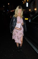 LAURA WHITMORE at Badoo Date of the Dead Party in London 10/26/2017
