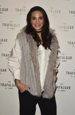 LAURA WRIGHT at Trafalgar St James Launch Party in London 10/18/2017