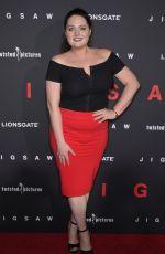 LAUREN ASH at Jigsaw Premiere in Los Angeles 10/25/2017