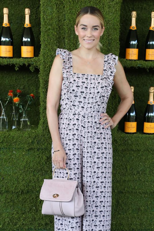 LAUREN CONRAD at 8th Annual Veuve Clicquot Polo Classic in Los Angeles 10/14/2017