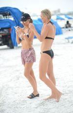 LAUREN HUBBARD in Bikini on the Beach in Miami 10/19/2017