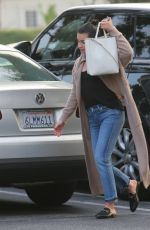 LEA MICHELE Out Shopping in Beverly Hills 10/29/2017