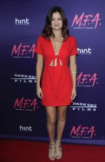 LEAH MCKENDRICK at M.F.A. Screening in Los Angeles 10/02/2017
