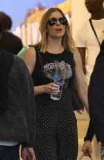 LEANN RIMES at Los Angeles International Airport 10/08/2017