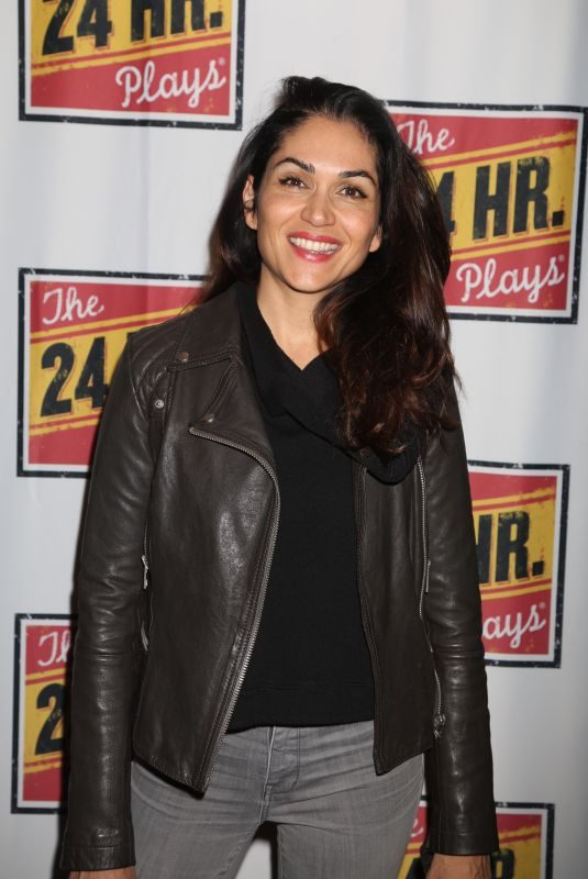 LELA LOREN at 24 Hour Plays on Broadway at American Airlines Theatre in New York 10/30/2017