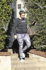 LENA DUNHAM Out in Los Angeles 10/27/2017