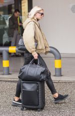 LENA GERCKE at Berlin Tegel Airport 10/11/2017