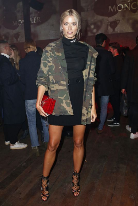 LENA GERCKE at Moncler x stylebop.com Launch Party in Berlin 10/11/2017