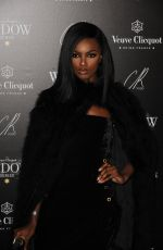 LEOMIE ANDERSON at Veuve Clicquot Widow Series VIP Launch Party in London 10/19/2017