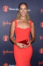 LEONA LEWIS at 5th Annual Save the Children Illumination Gala in New York 10/18/2017