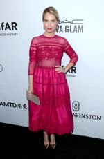LESLIE GROSSMAN at Amfar Inspiration Gala in Los Angeles 10/13/2017