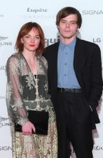 LEVI and CHARLIE HEATON at Esquire Townhouse with Dior Party in London 10/11/2017