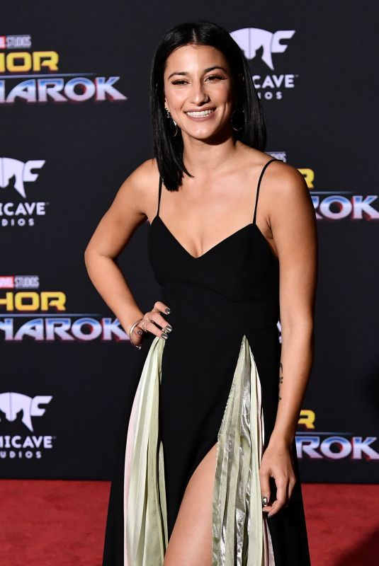 LEXY PANTERRA at Thor: Ragnarok Premiere in Los Angeles 10/10/2017