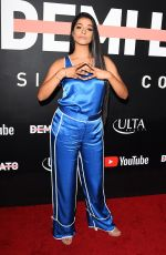 LILLY SINGH at Demi Lovato: Simply Complicated Youtube Premiere in Los Angeles 10/11/2017