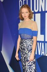 LILY COLE at 61st BFI London Film Festival Awards in London 10/14/2017