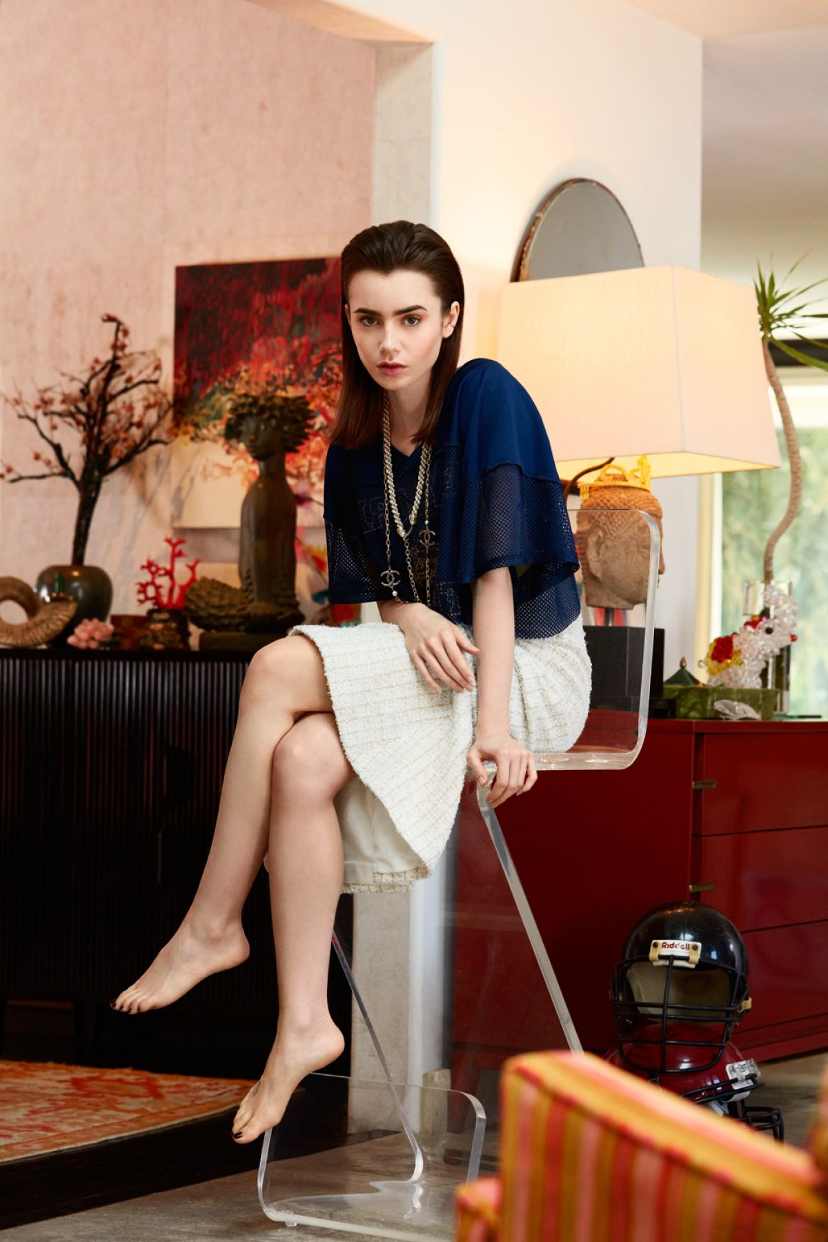 LILY COLLINS for Crash...