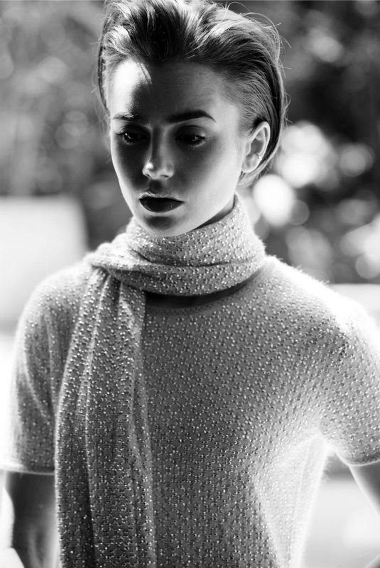 LILY COLLINS for Crash Magazine, Issue #80