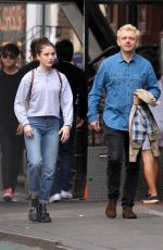 LILY MO SHEEN and Michael Sheen at a Park New York 10/08/2017