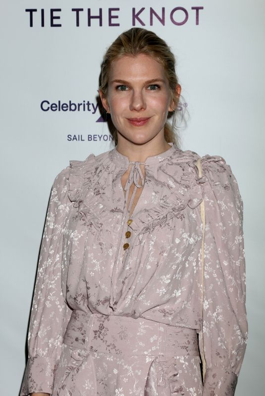 LILY RABE at Tie the Knot Party in Los Angeles 10/12/2017