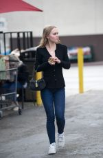 LILY ROSE-DEPP Out Shopping in Los Angeles 10/30/2017