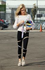 LINDSAY ARNOLD Arrives at a Dance Rehersal in Los Angeles 10/19/2017