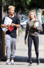 LINDSAY ARNOLD Heading to Dance Studio in Los Angeles 10/06/2017