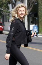 LINDSAY ARNOLD Out and About in Los Angeles 10/03/2017