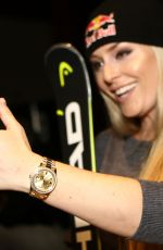 LINDSEY VONN at Head Skis Press Conference in Solden 10/26/2017