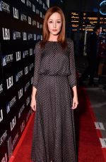 LINDY BOOTH at LBJ Premiere in Los Angeles 10/24/2017