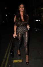 LINSEY DAWN MCKENZIE at Sixty6 Magazine Launch Party in London 10/12/2017