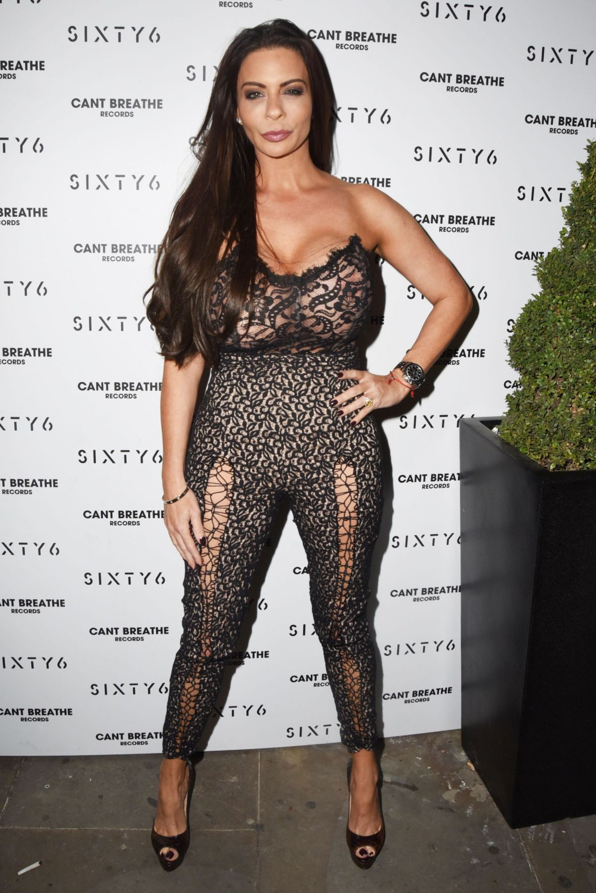 LINSEY DAWN MCKENZIE at Sixty6 Magazine Launch Party in