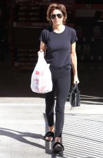 LISA RINNA Leaves CVS in Los Angeles 10/23/2017