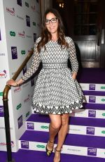 LISA SNOWDON at Spectacle Wearer of the Year in London 10/10/2017