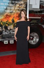 LORA MARTINEZ at Only the Brave Premiere in Westwood 10/08/2017