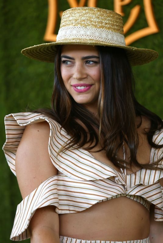 LORENZA IZZO at 8th Annual Veuve Clicquot Polo Classic in Los Angeles 10/14/2017