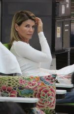 LORI LOUGHLIN at a Salon in Beverly Hills 10/04/2017