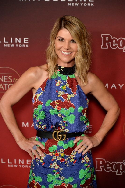 LORI LOUGHLIN at People's Ones to Watch Party in Los Angeles 10/04/2017