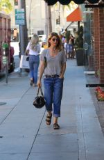 LORI LOUGHLIN Out Shopping in Beverly Hills 10/23/2017