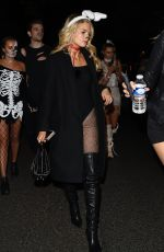 LOTTIE MOSS and EMILY BLACKWELL at One Embankment Halloween Party in London 10/27/2017