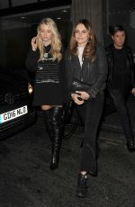 LOTTIE MOSS and Valentine Sozbilir at Tallia Storm Birthday Party in London 10/25/2017